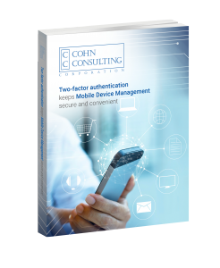 Cohn Consulting Mobile Device Book Cover